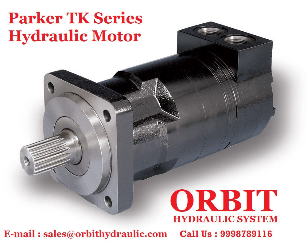 Parker TK Series Hydraulic Motor in Ahmedabad Mumbai Chennai bangalore Hyderabad Nashik Pune Indore Jaipur Delhi Haryana Kolkata India